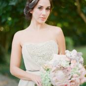 Custom Romantic Bridal Gown