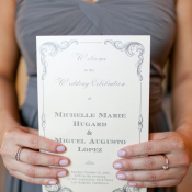Elegant Ceremony Programs