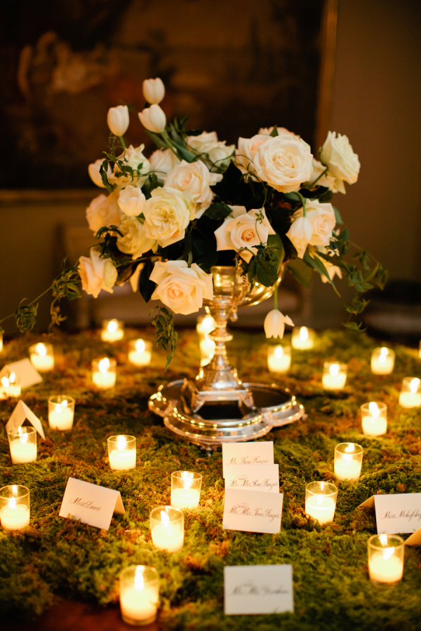 Elegant Escort Card Table