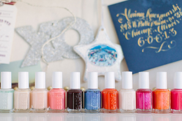 Colorful Essie Nail Polish