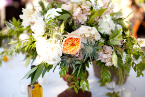 Exotic Floral and Greenery Arrangement