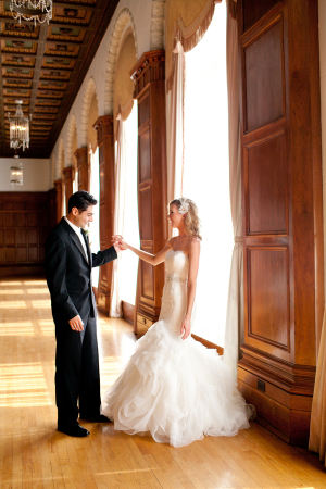 First Look Los Angeles Wedding