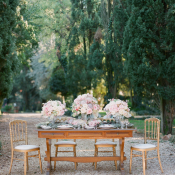 Garden Estate Reception in Italy