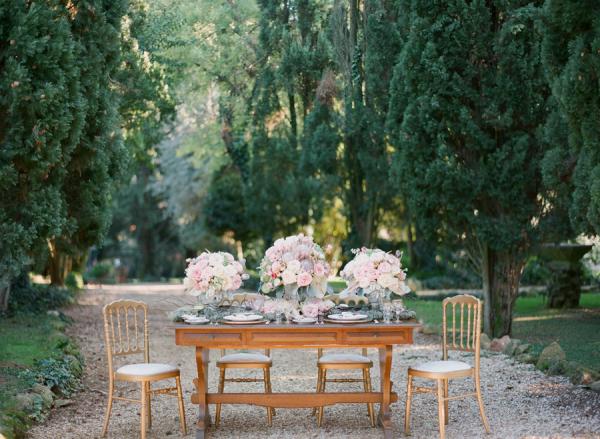 Garden Estate Reception in Italy