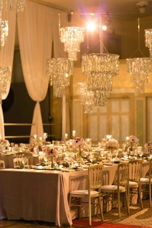 Glamorous Rose Gold Wedding