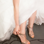Glitter Bridal Heels