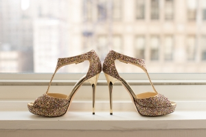 Glitter Jimmy Choo Heels