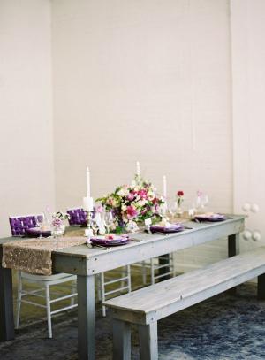 Gray Purple Wedding Ideas