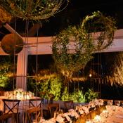 Greenery Globe Wedding Decor