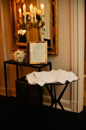 Handkerchief Wedding Exit