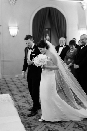 Hotel Ballroom Wedding Ceremony