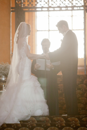 LA Hotel Wedding Ceremony