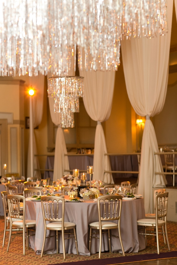 Mauve and Silver Reception