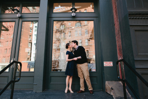 NYC Engagement Session from Sasithon Photography