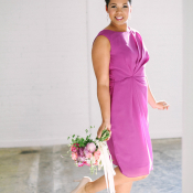 Orchid Bridesmaids Dress
