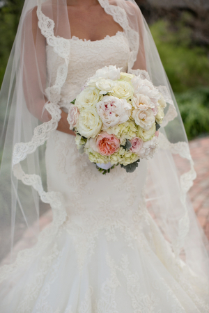 Peony and Hydrangea Bridal Bouquet