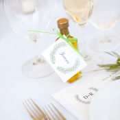 Personalized Olive Oil Wedding Favors