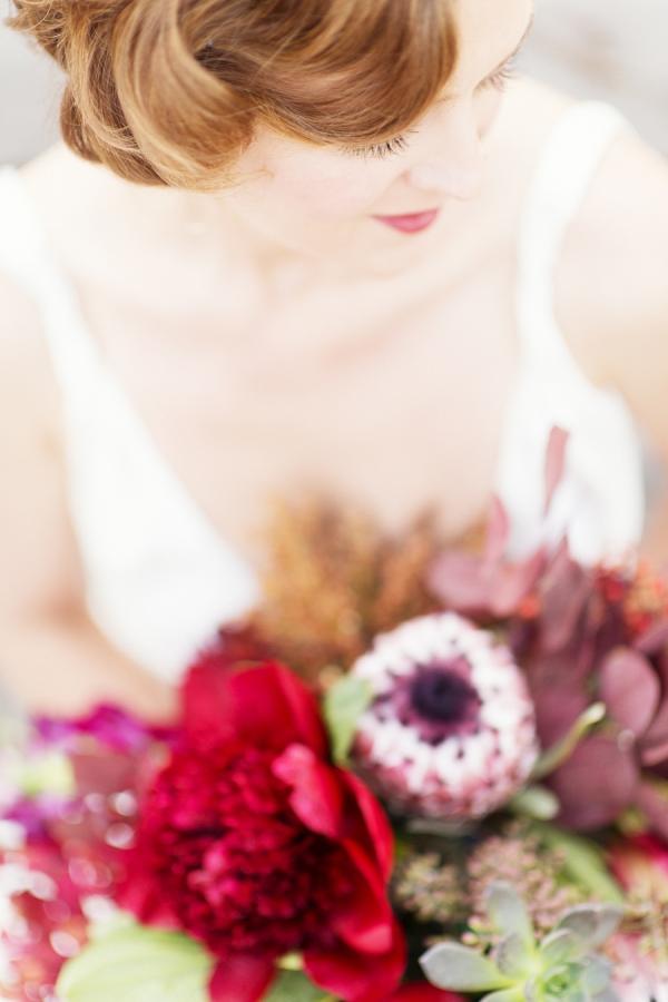Pin Curls Bridal Hair Inspiration