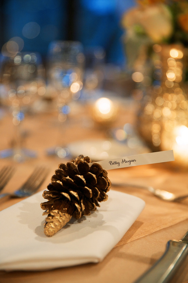 Pinecone at Place Setting