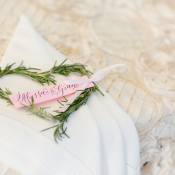Place Setting with Heart