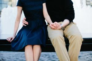 Preppy Attire for Engagement Photos