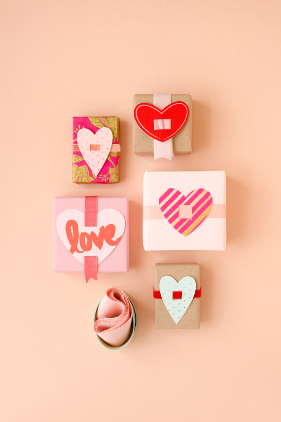 Printable Heart Toppers