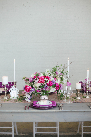 Purple and Pink Tabletop