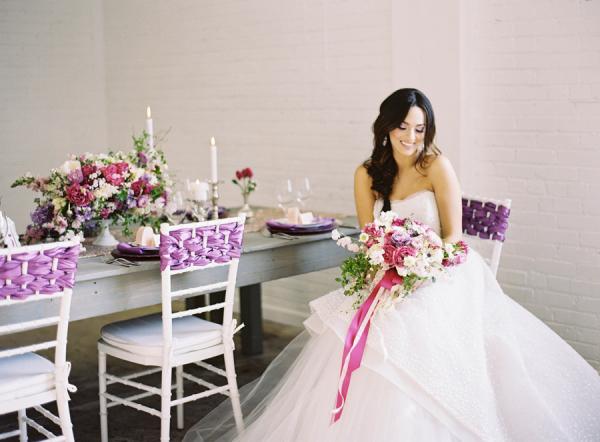 Radiant Orchid Wedding Inspiration