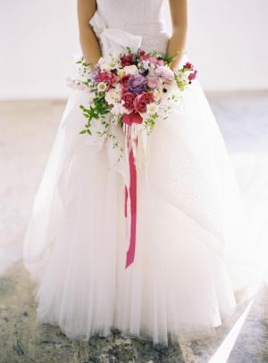 Romantic Fuchsia Bouquet