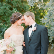 Romantic Wedding Portrait from Buffy Dekmar