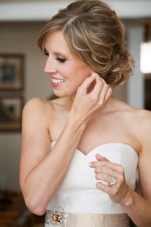 Simple Bridal Updo