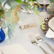 Simple Place Card Wedding Ideas