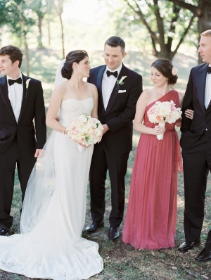 Sophisticated Bridal Party
