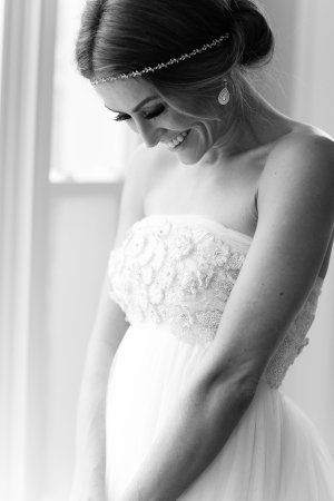 Strapless Bridal Gown