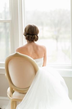 Unique Wedding Updo