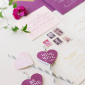 Valentines Wedding Stationery