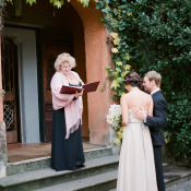 Villa Bertolami Italian Wedding Ceremony