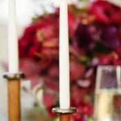 Vintage Gold Candlesticks