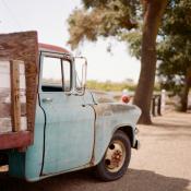Vintage Truck at Wedding