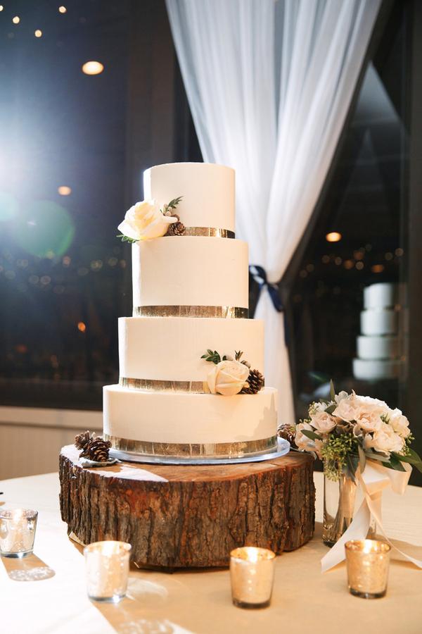 Wedding Cake on Tree Stump - Elizabeth Anne Designs: The Wedding Blog