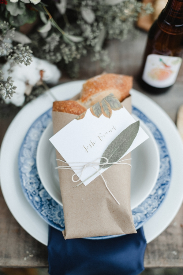 Baguette at Place Setting