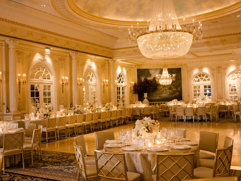 Ballroom reception with elegant chandelier elizabeth anne ballroom reception with elegant chandelier elizabeth anne designs the wedding blog mozeypictures Gallery