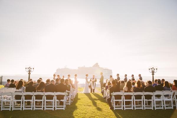 Belle Mer Island House Wedding