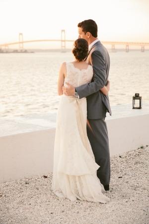 Belle Mer Island House Wedding Rebecca Arthurs