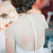 Blue Olga Malyarova Wedding Dress