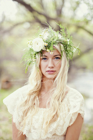 Bohemian-Inspired Floral Crown