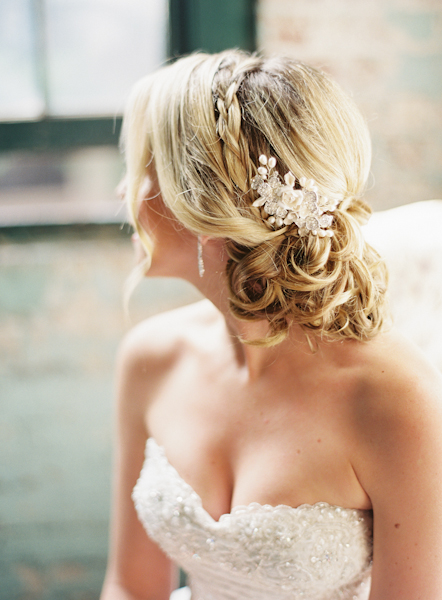 braided bridal updo elizabeth anne designs the wedding blog. Black Bedroom Furniture Sets. Home Design Ideas