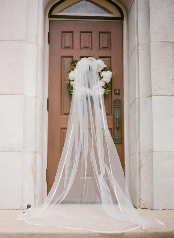 Bridal Veil On Church Door Elizabeth Anne Designs The Wedding Blog
