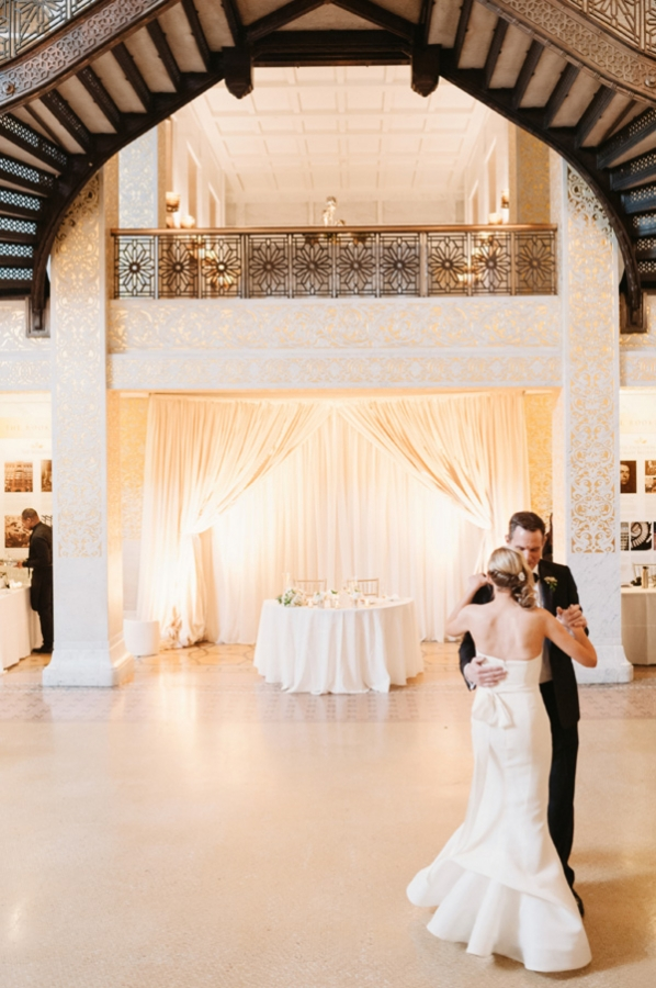 Bride and Groom First Dance The Rookery