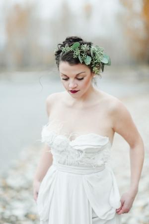 Bride in Claire La Faye